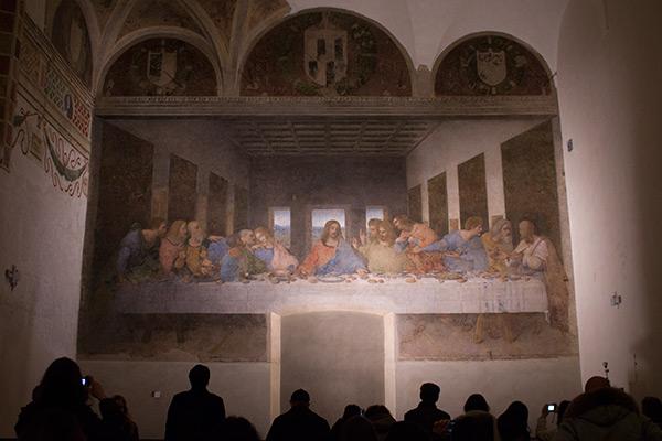 Leonard De Vinci S Painting Of The Last Supper